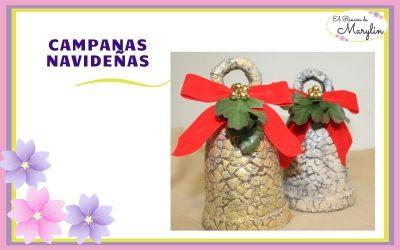 Como hacer campanas para decorar en navidad