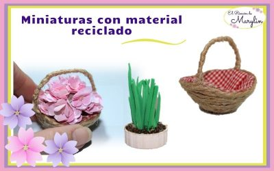 3 IDEAS EN MINIATURA