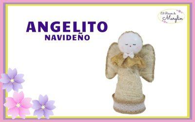 Precioso Angelito NAVIDEÑO para decorar