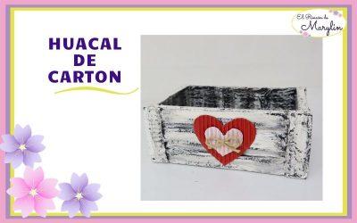 IDEAS CON CAJAS DE CARTON