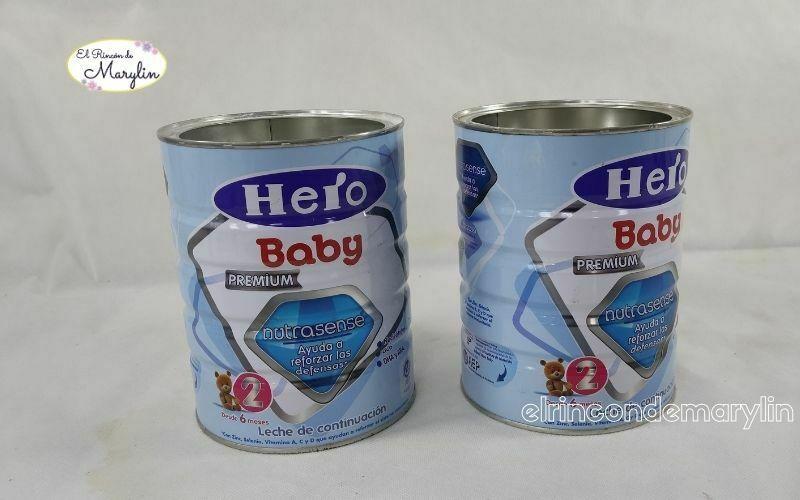 recicclar latas de leche