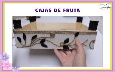 Como reciclar cajas de fruta