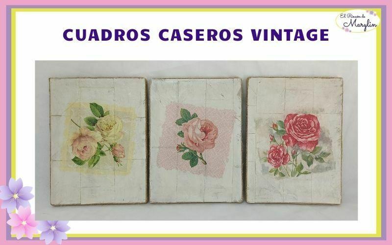 cuadros caseros vintage