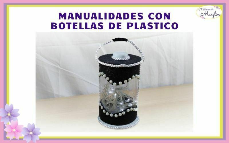 FAROLILLO CON BOTELLAS DE PLASTICO