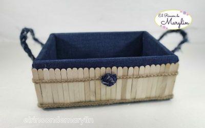 Como hacer cestas para organizar tu hogar