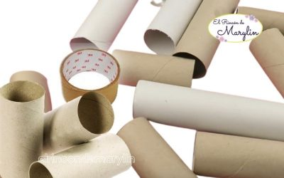 5 ideas para reciclar TUBOS DE CARTON