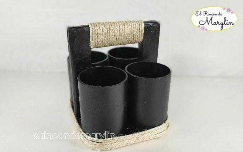 reciclar tubos de carton